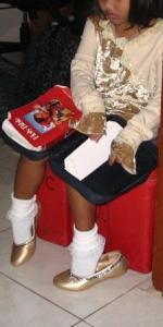 Bible reading, girl reading Bible