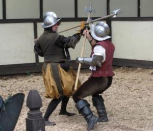 medieval battle, javelins