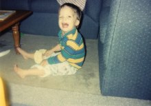 laughing baby, laughing boy, first pants, farside