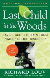 book cover, woods, Richard Louv, nature
