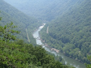 river, gorge, rafting, Virginia, West Virginia, valley