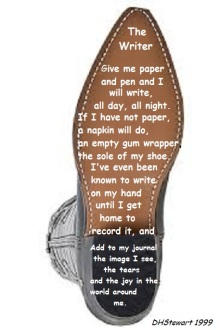 sole, boot, sole poetry