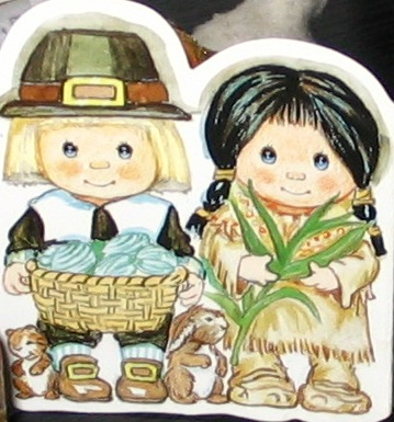 pilgrim boy, native american girl, indian, pilgrim, thanksgiving, harvest, first thanksgiving