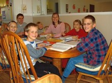 homeschool family, German homeschool