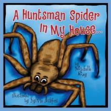 spiders, huntsman spiders, Australia, book review, Michelle Ray
