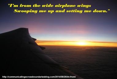 airplane, TCK, poetry